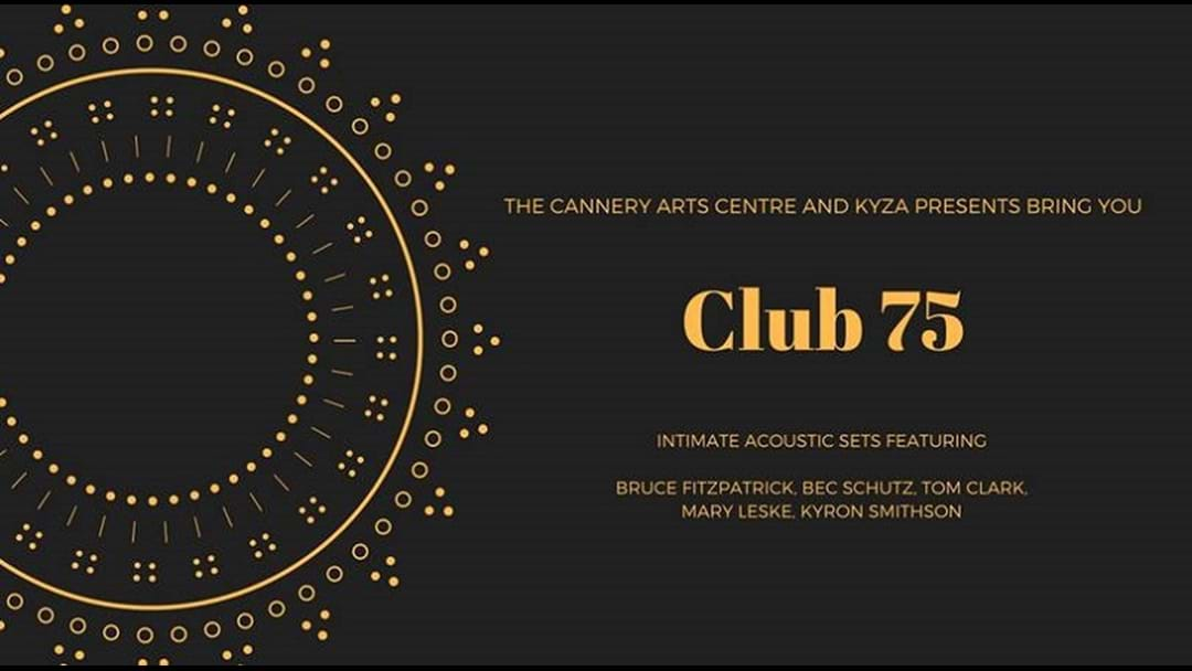 Club 75 at the Cannery - an intimate acoustic set