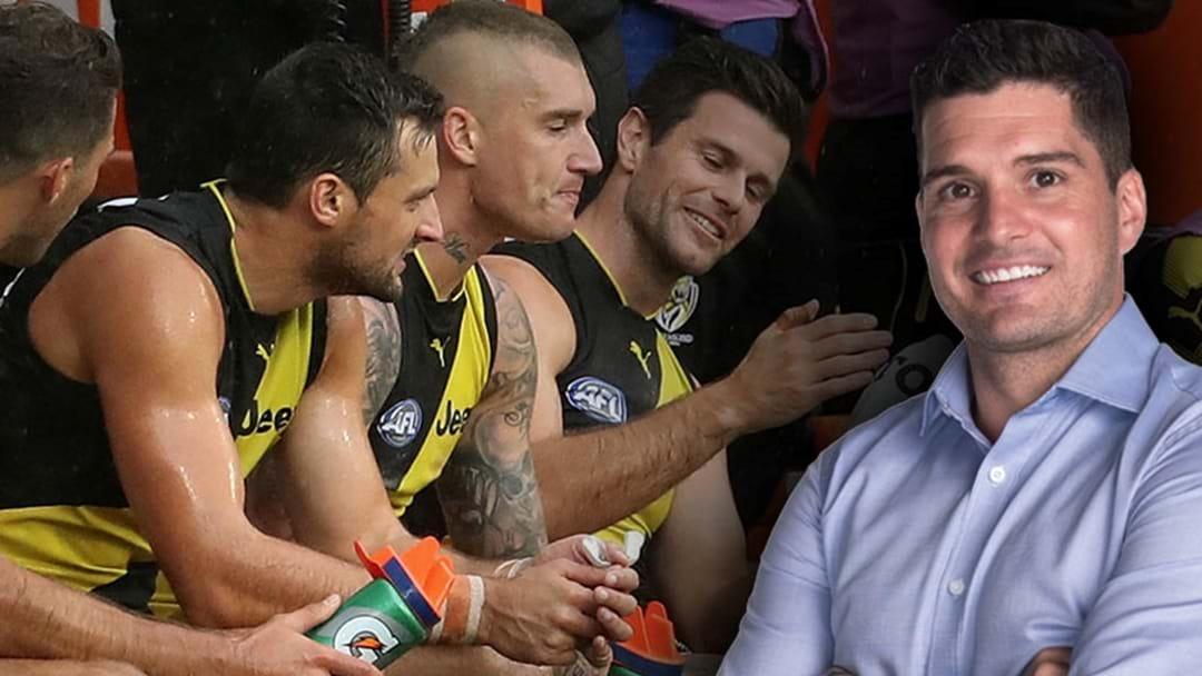 Joey Montagna Says The AFL Shouldn't Reduce The Interchange Cap