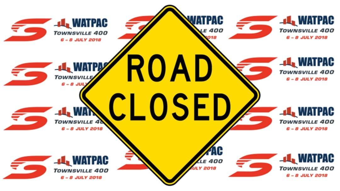 SuperCars Road Closures