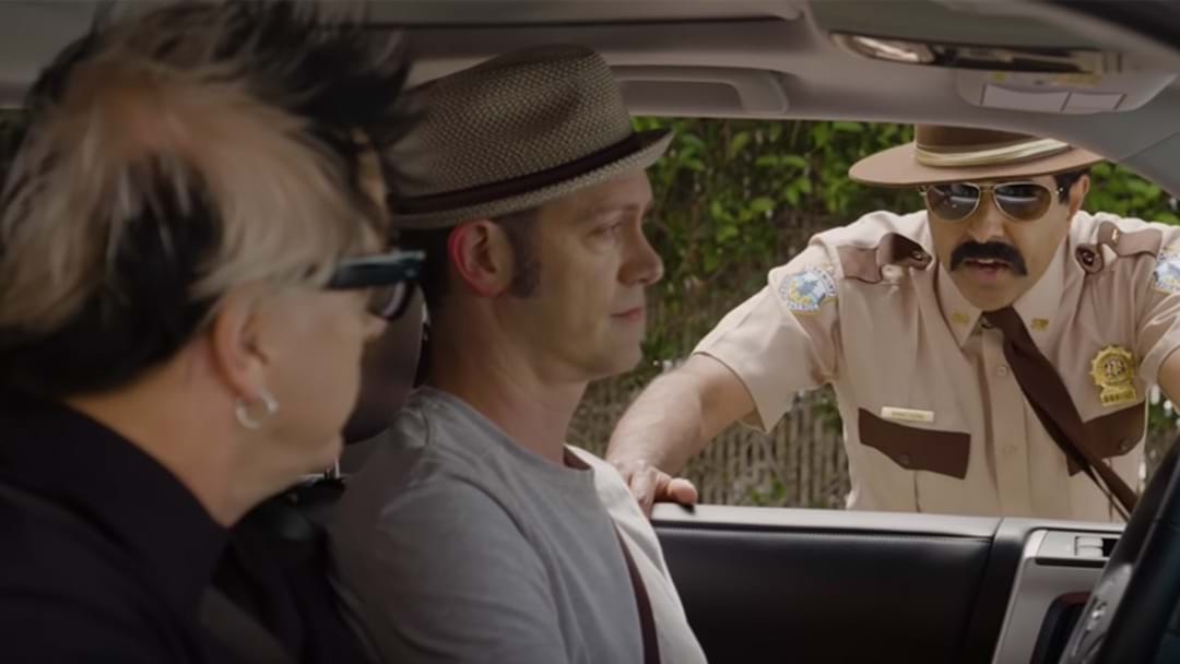 The Offspring Have Been Pulled Over By The Super Trooper Guys
