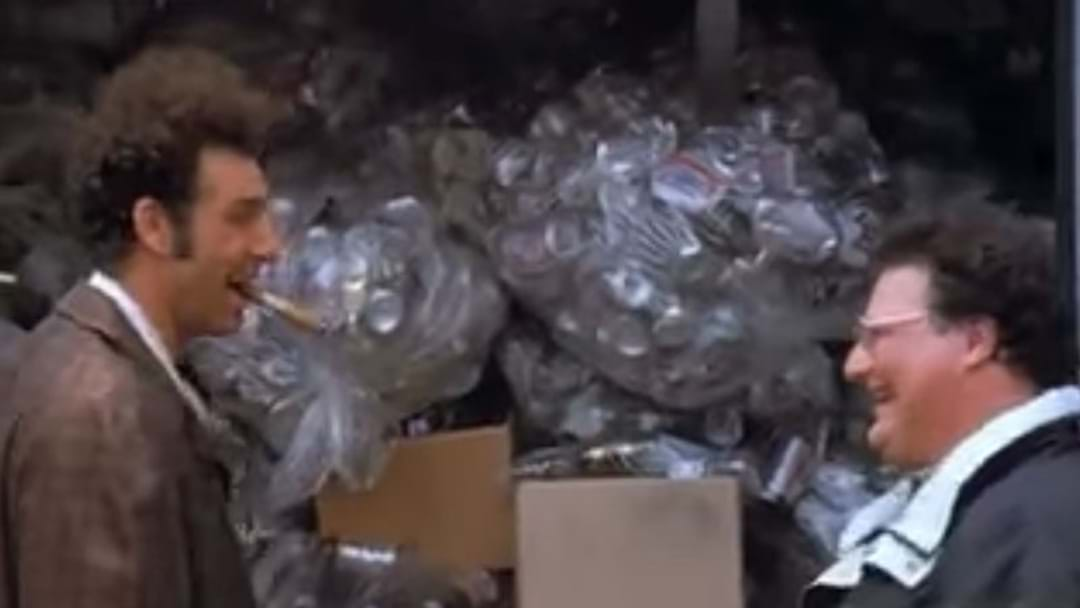 A Bloke From NSW Got Fined For Trying To Take Cans To SA In A Ploy Straight From Seinfeld