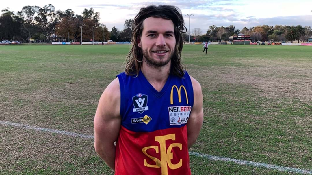 Local Footy Player Reportedly Racks Up 61 Disposals And Six Goals