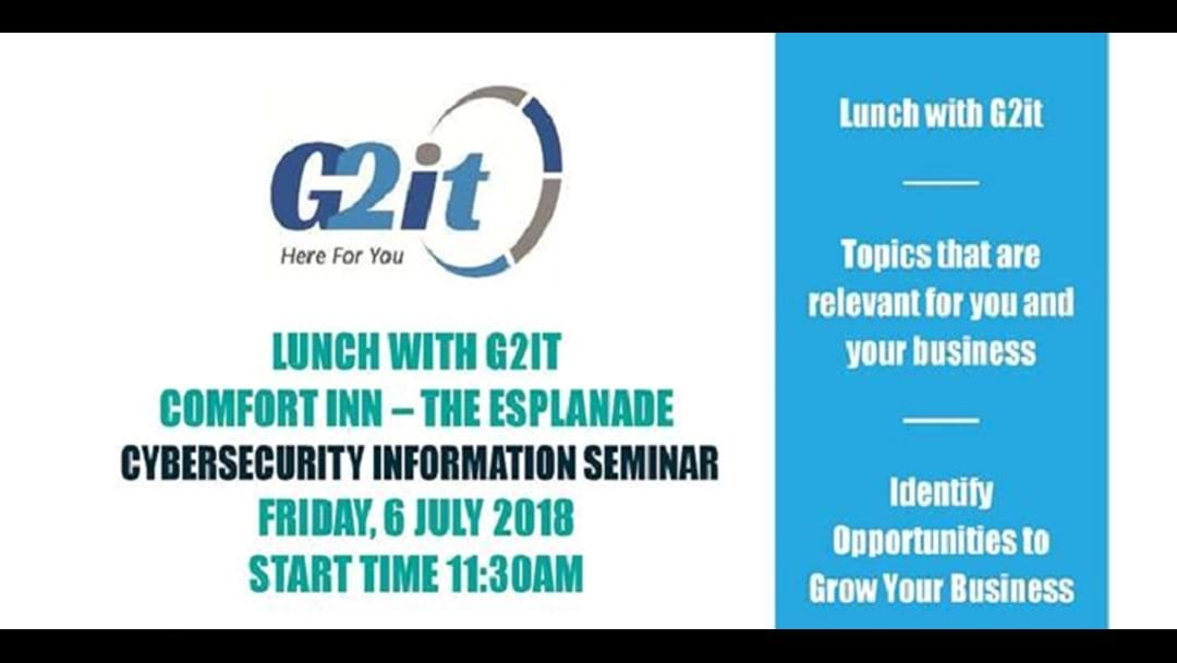 Lunch with Series - Lunch With 2GIT