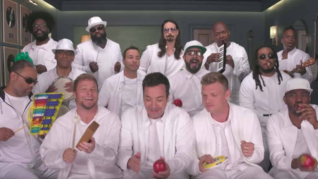 Jimmy Fallon Teamed Up With The Backstreet Boys And It's Hilariously Good!