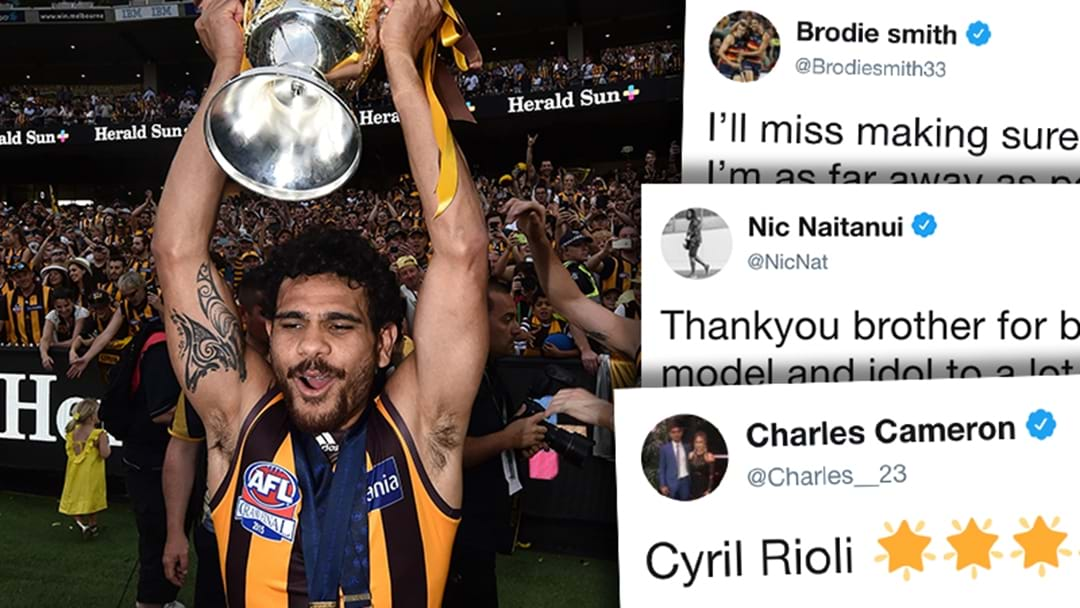 AFL Players React To Cyril Rioli's Retirement