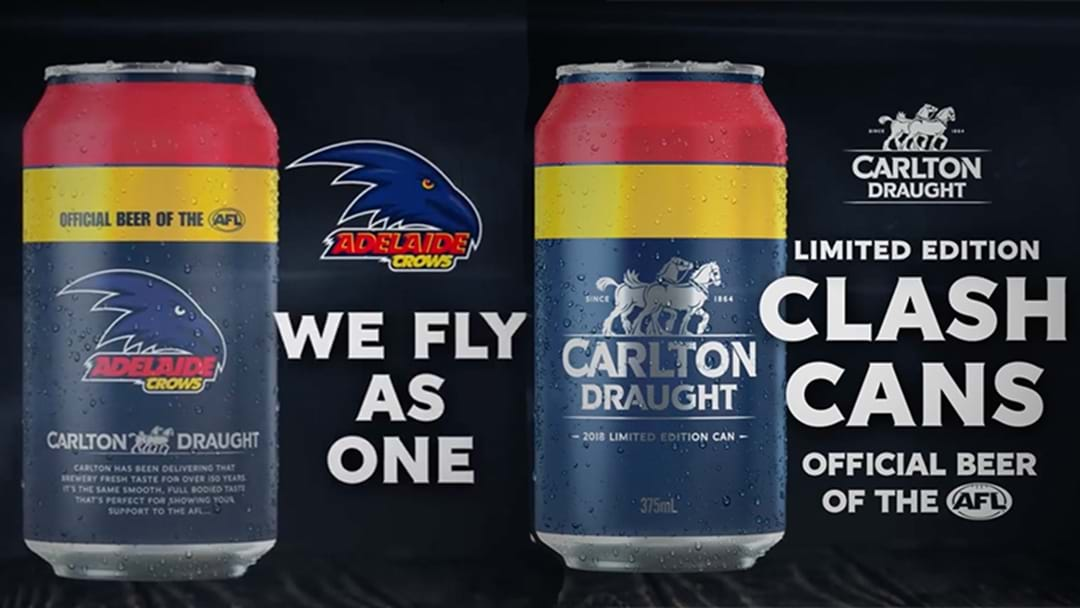 Turns Out CUB Have Also Released Limited Edition Crows Tinnies Too