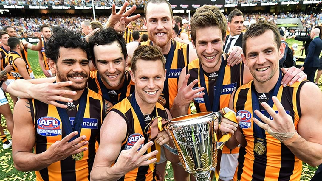 Lehmo Shares A Cracking Story About Cyril Rioli Before The 2015 Grand Final