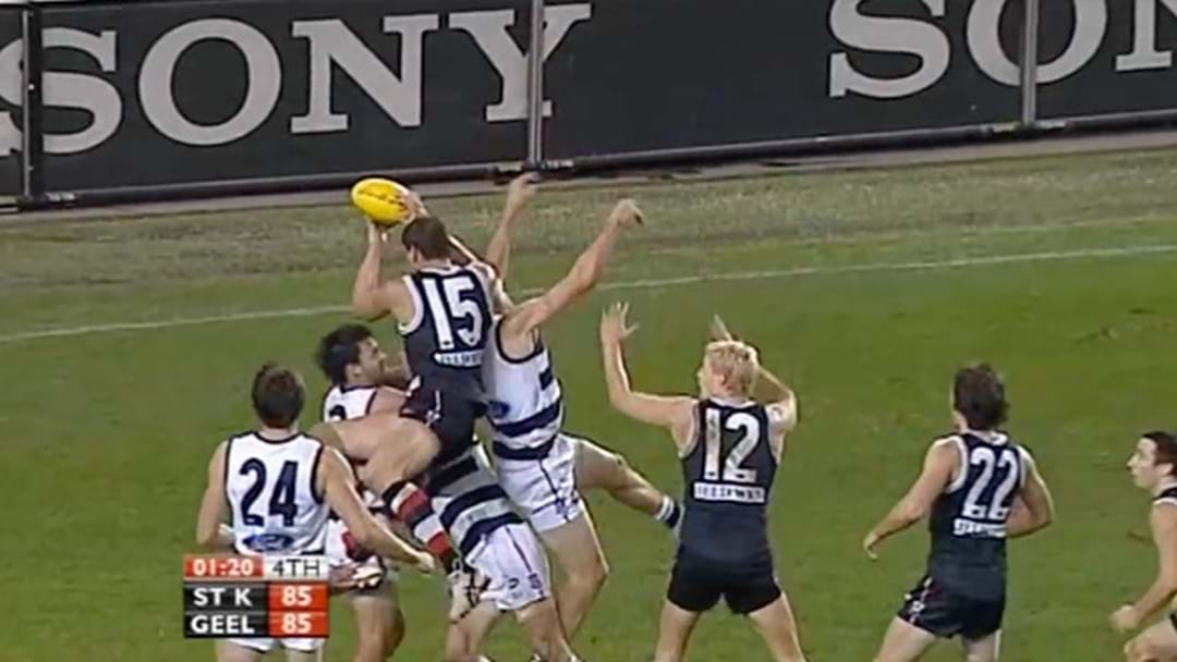 Listen To The Triple M Call Of The Famous Geelong v St Kilda Home And Away Game In 2009