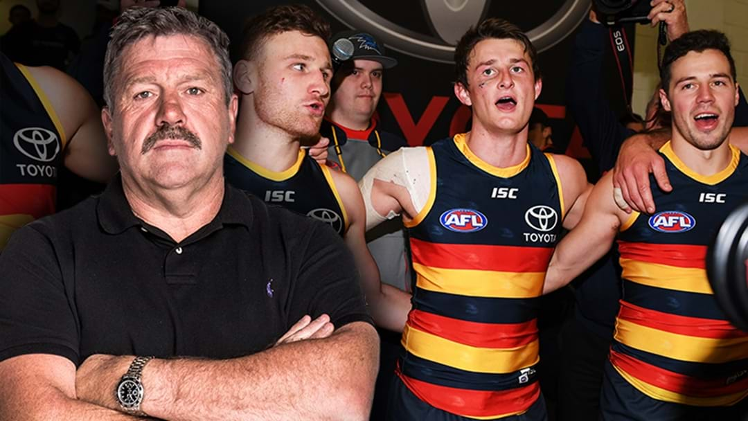Brian Taylor Explains Why Adelaide Won't Make Finals