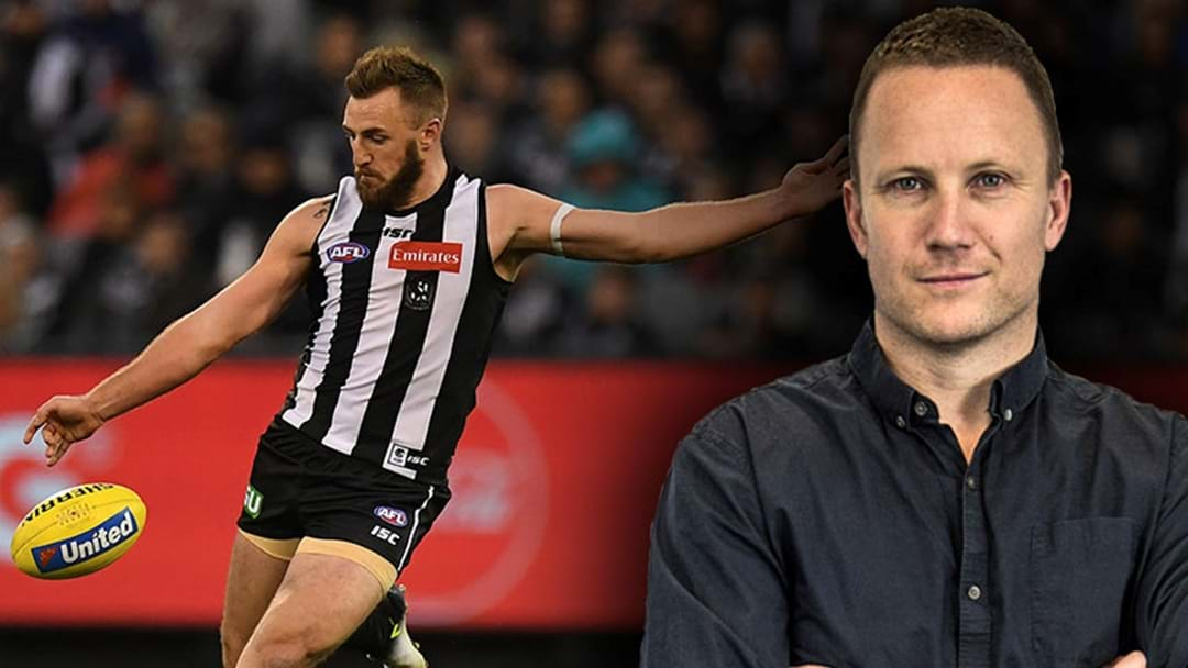 Nathan Brown Says There's Only One Player Collingwood Can Afford To Lose Less Than Lynden Dunn