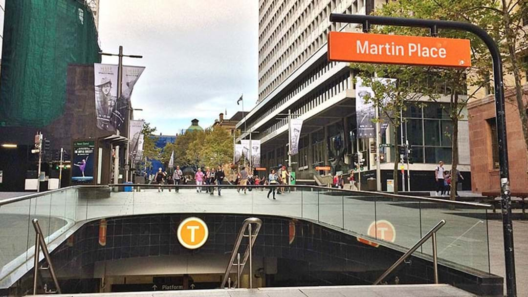Martin Place Train Station Closed Until Further Notice Due To Gas Leak