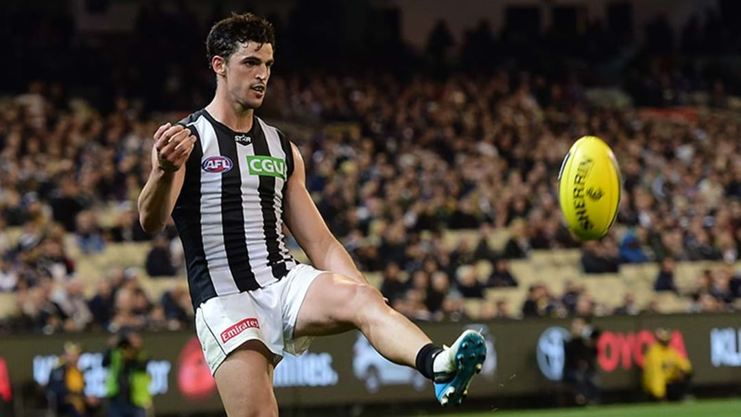 LISTEN | Scott Pendlebury's Story About Trolling A Carlton Fan After Kicking A Goal