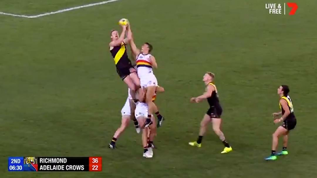 Listen To Triple M's Call Of Jack Riewoldt's Dropped Mark And Goal