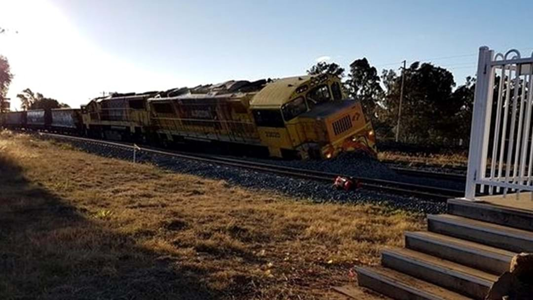Train Derailment in Oakey