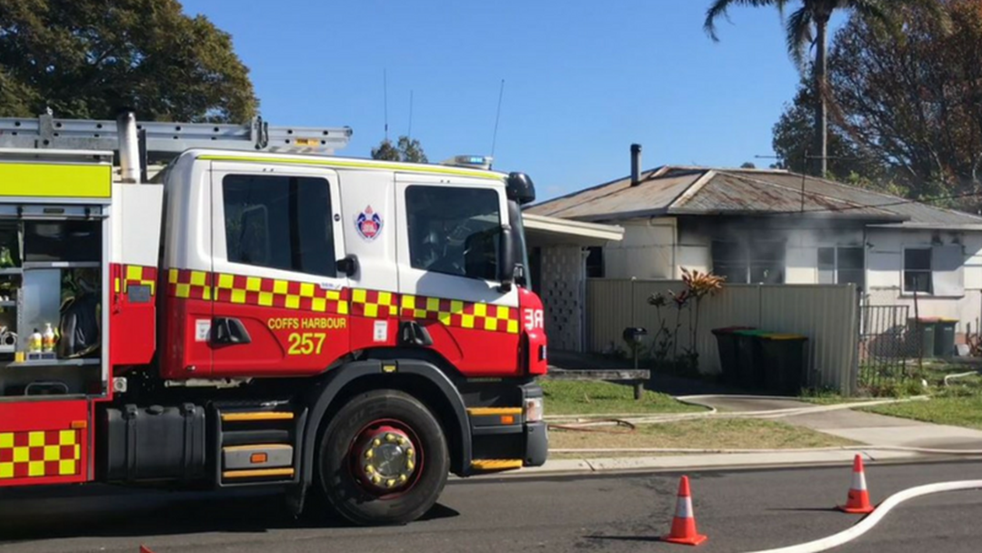 Fire Destroys House in Coffs Harbour