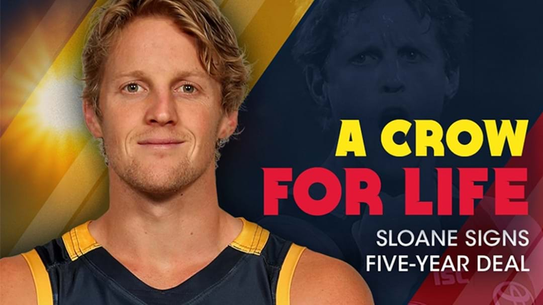 Rory Sloane Has Signed A 5-Year Deal To Remain At The Crows