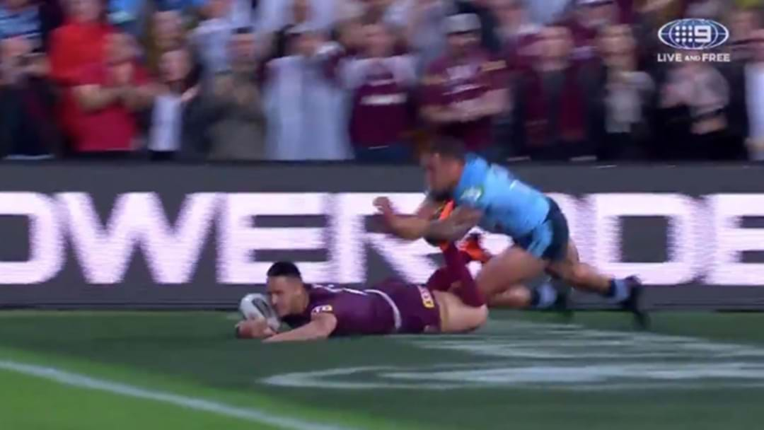 Blistering Intercept Try From Valentine Holmes Opens The Scoring