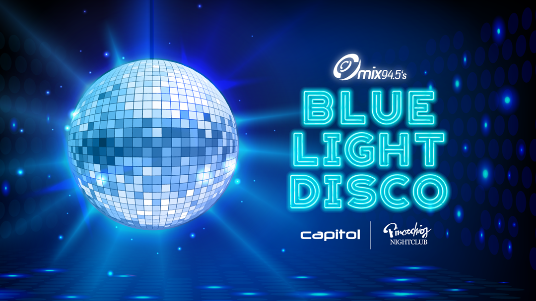 Win $10,000 at mix94.5's Blue Light Disco!