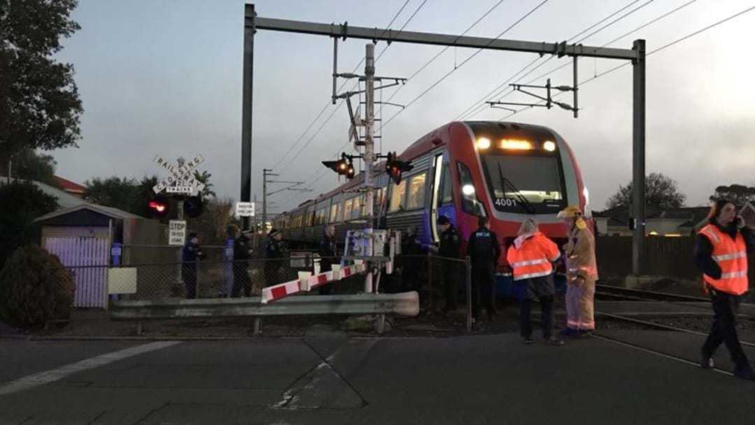 BREAKING: Pedestrian Dies After Being Hit By A Train At South Brighton