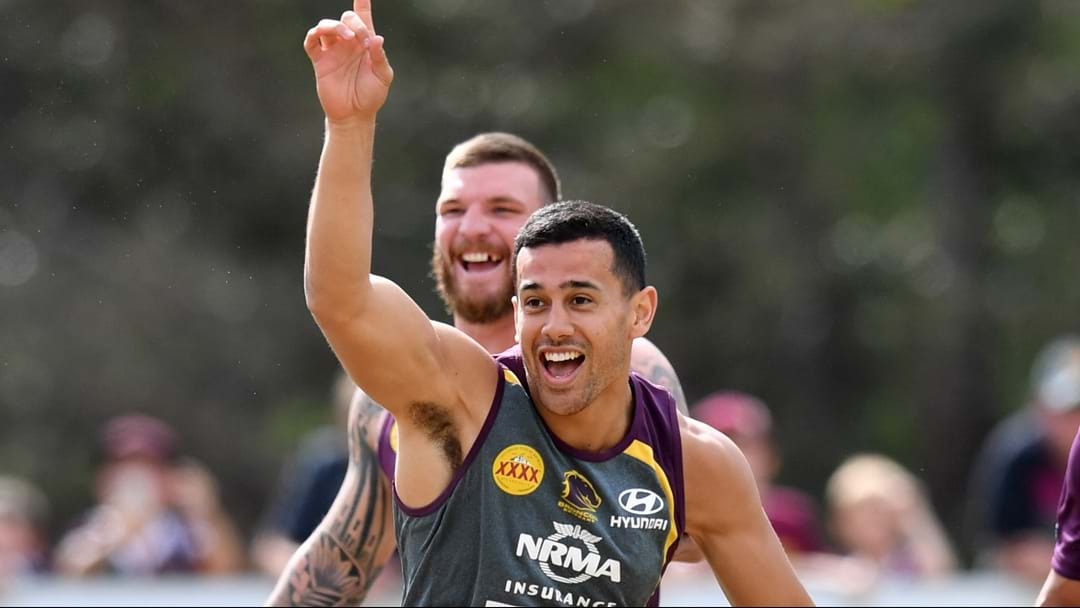 Brisbane Broncos' Jordan Kahu Shares A Hilarious Yarn About Trying To Eat A Steak With A Broken Jaw