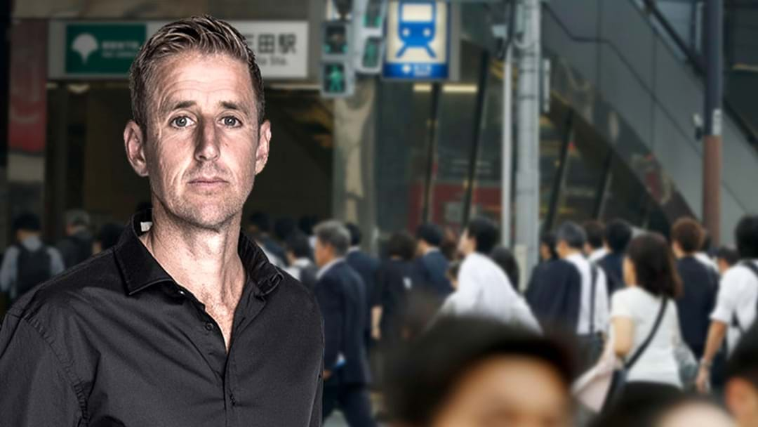 LISTEN | Mark Howard's Story About His Own Brush With The Japanese Authorities