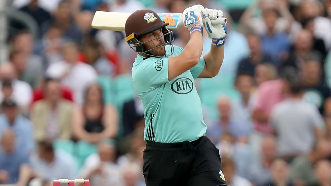 Aaron Finch Smashes Another Brilliant Century In England's T20 Comp