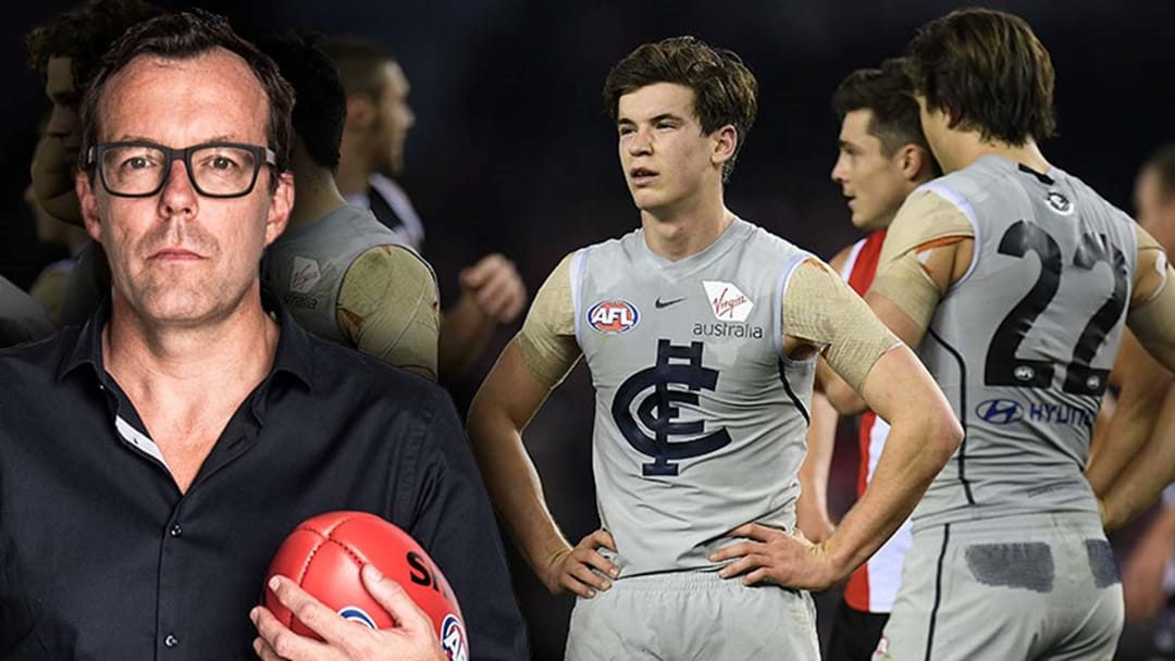 Damian Barrett Says That Carlton Will Need A Priority Pick At The End Of This Year