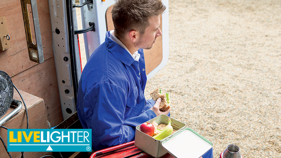 Win a breakfast delivery for your worksite thanks to LiveLighter
