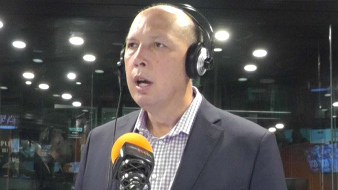 "Peter Dutton Tells Triple M's Hot Breakfast He's ""The Best Person To Lead The Party"""