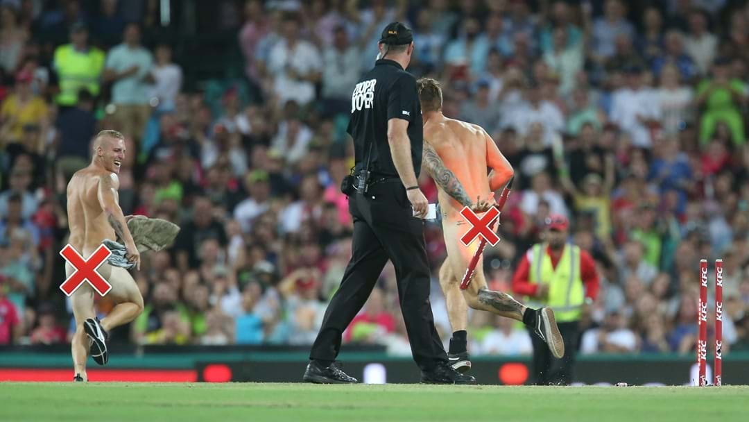 Those Two Streakers Who Tried To Crowdfund For Their Nudie Run Fines Have Had Their Convictions Quashed