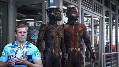 "Blues' Jake Trbojevic's Hilarious Review For ""Ant-Man"""