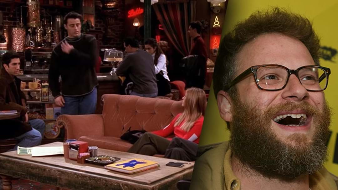 Someone Has Replaced The Laugh Track In Friends With Just Seth Rogen Laughing