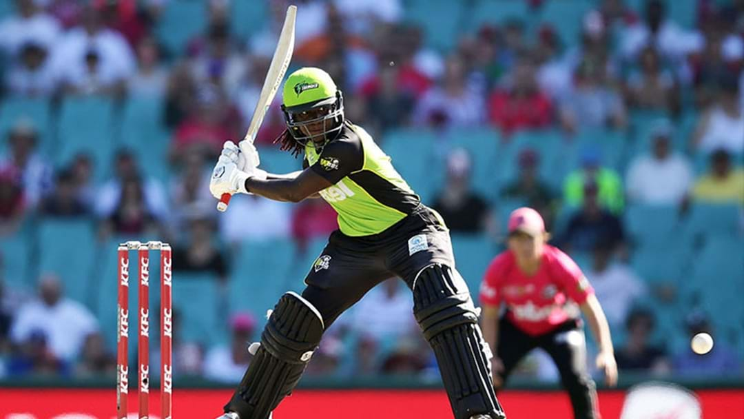 The Sydney Thunder Just Won The WBBL Sydney Derby Game In A Thrilling Super Over