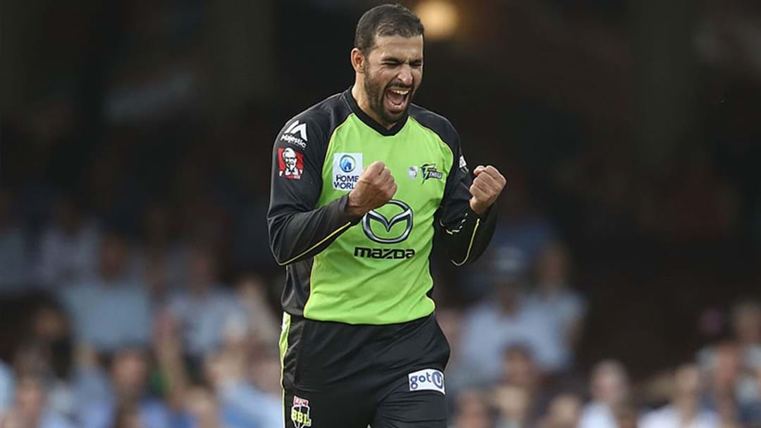 Fawad Ahmed Just Ripped The Sydney Sixers To Shreds In The Big Bash