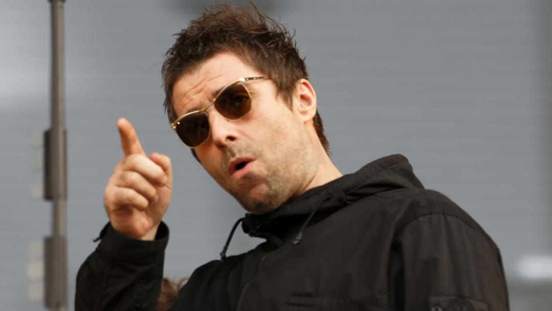 Someone Chucked A Fish At Liam Gallagher And He Reacted Exactly How You'd Expect Him To