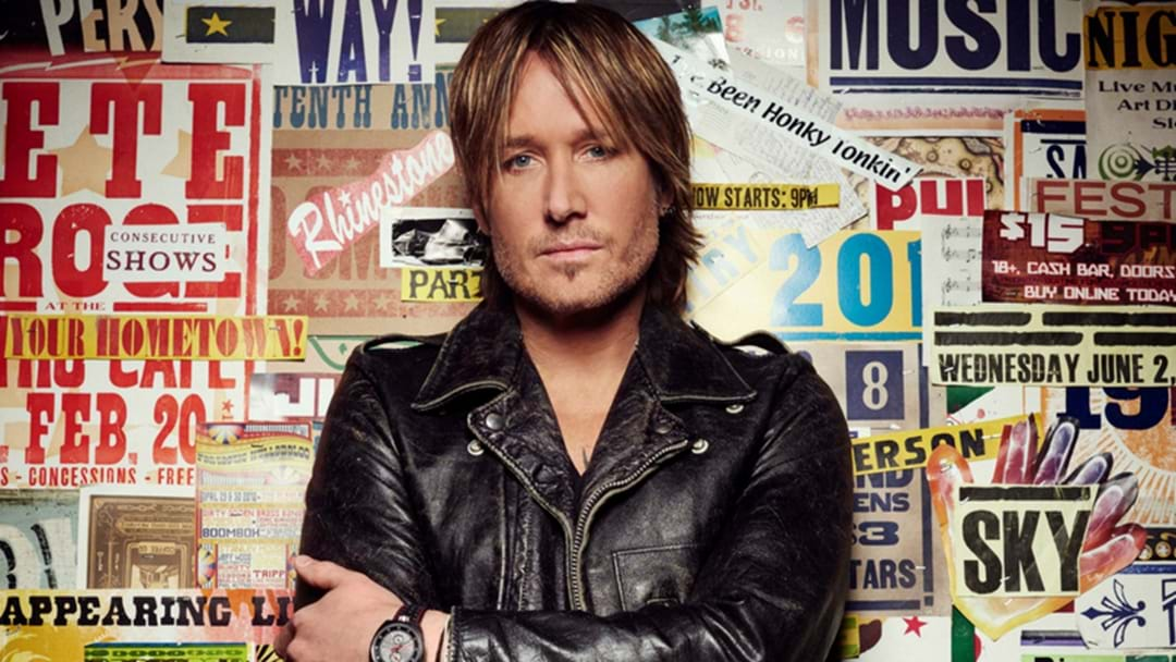 Keith Urban Is Bringing His GRAFFITI U WORLD TOUR To Australia!