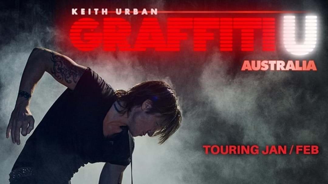 "Keith Urban ""Graffiti U"" Australian Tour Announced"