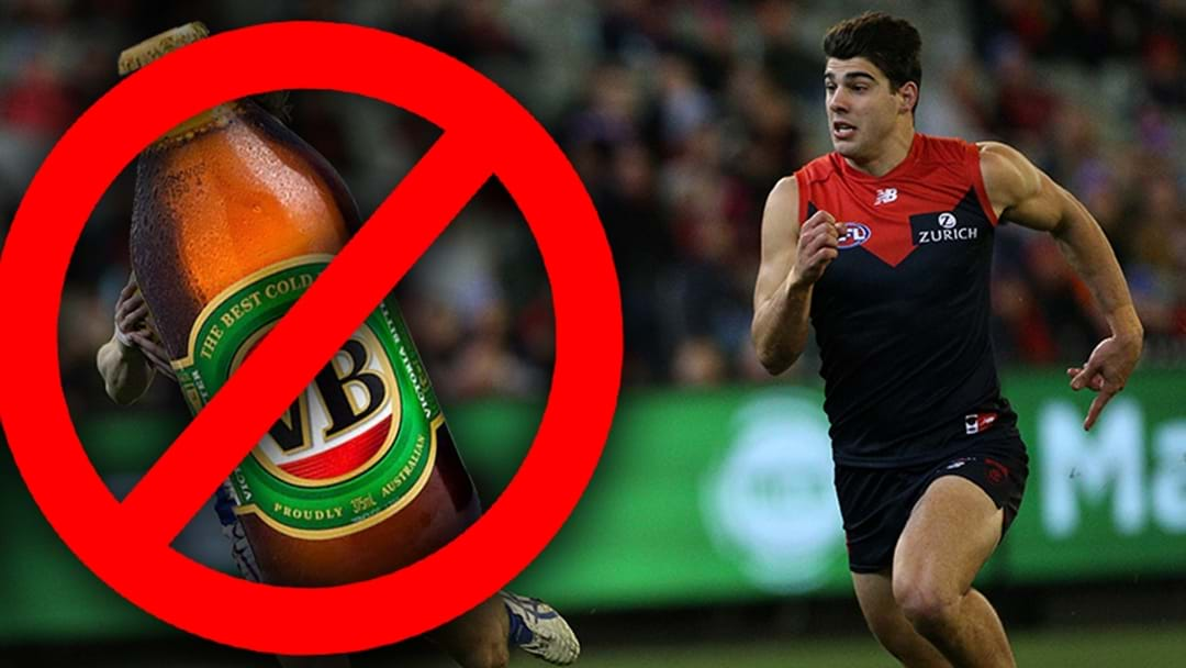 Christian Petracca Says Melbourne Have Implemented An Alcohol Ban Until After The Season