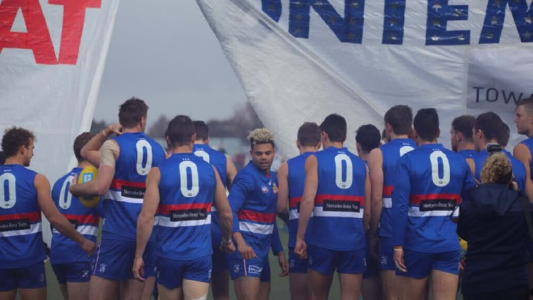 Western Bulldogs All Ran Out Wearing Number 0 Today