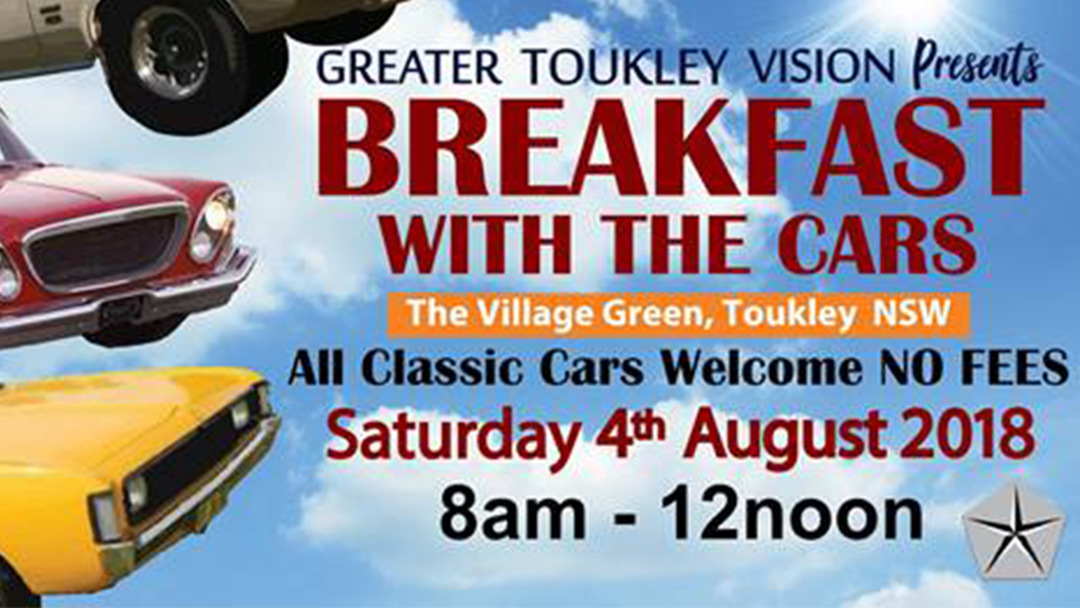Breakfast With The Cars In Toukley!