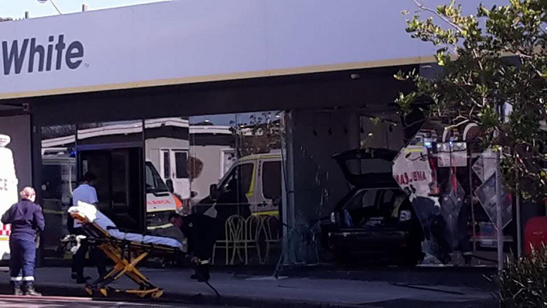 Car Slams Into Bateau Bay Shop Front