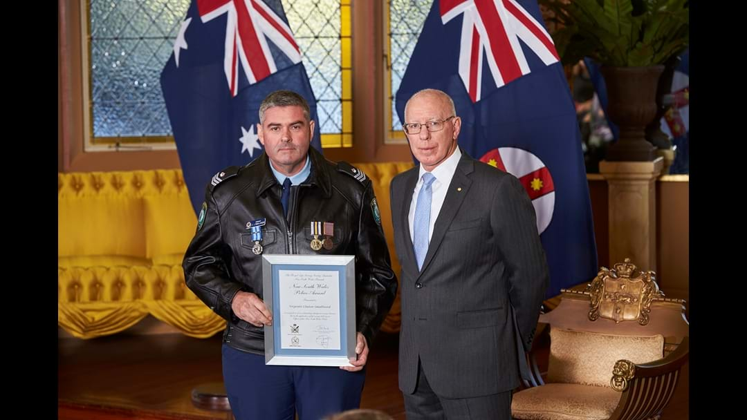 Kemspey Sergeant Recognised at Government House