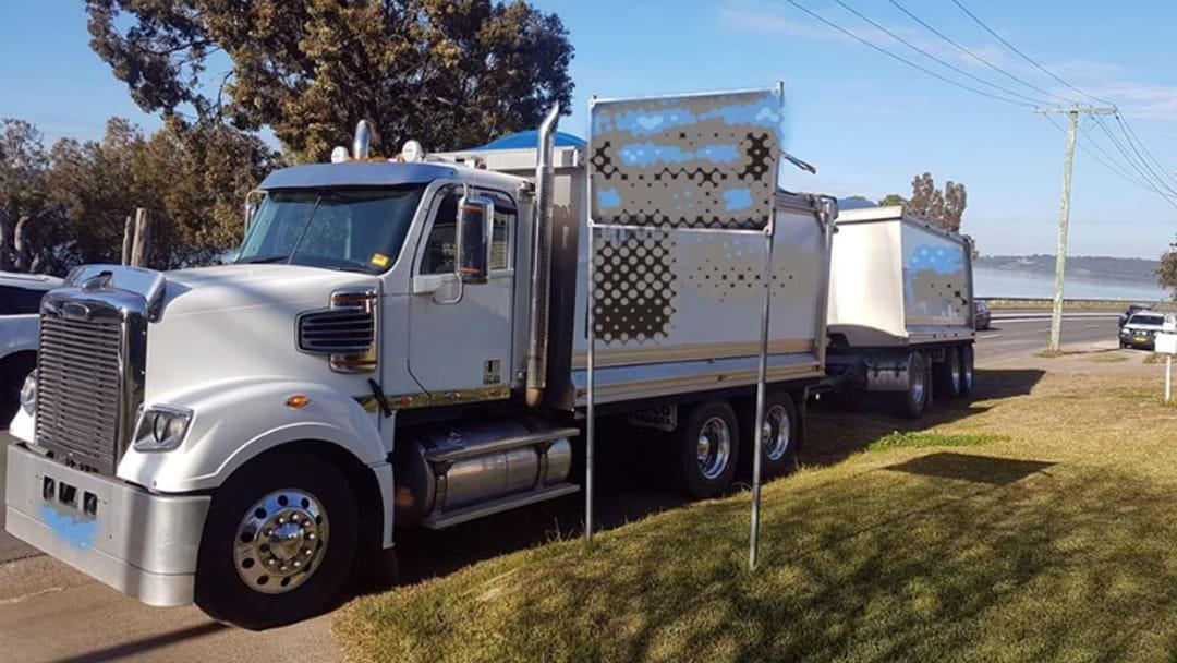 Drunk Truck Driver Caught Using Phone, No Seatbelt