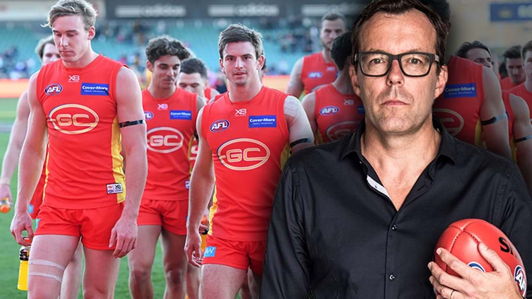 Damian Barrett Says The AFL Needs To Revisit Why They Put A Team On The Gold Coast