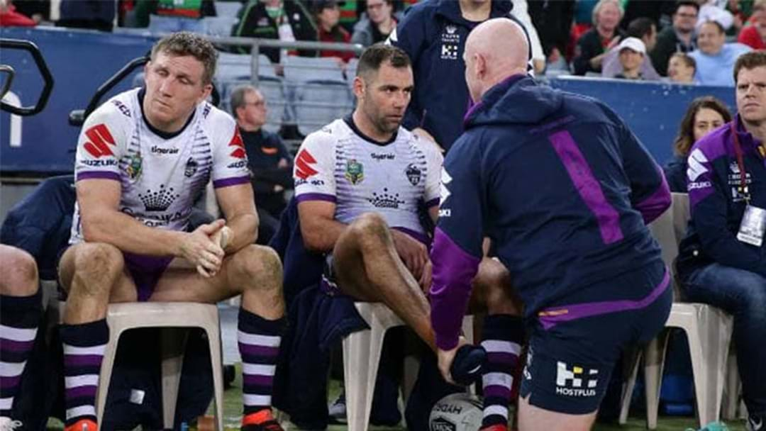 "Cameron Smith Injury: ""If You're A Storm Fan, I Would Be Worried"""