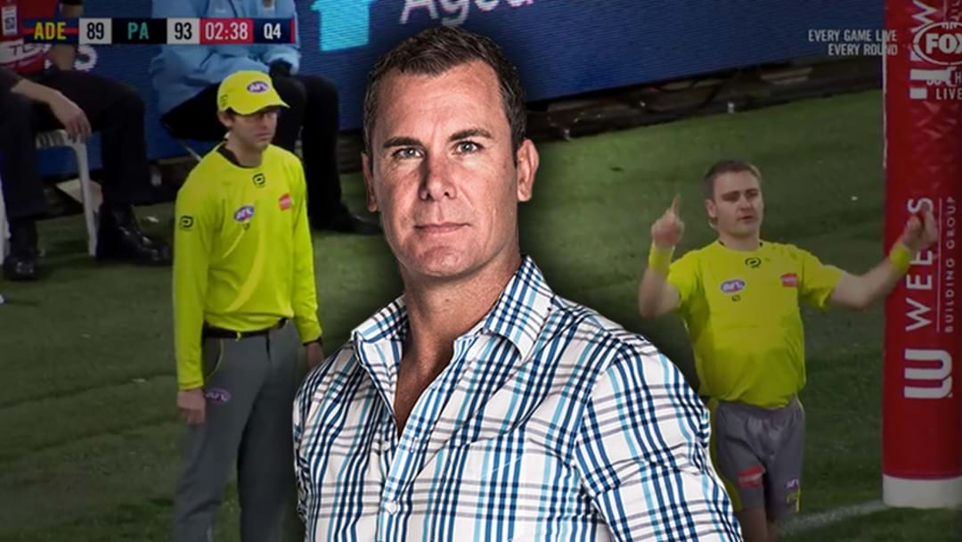Wayne Carey Defends The Score Review System