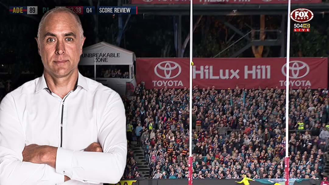 Wayne Schwass Says The AFL Needs To Invest In Better Score Review Cameras