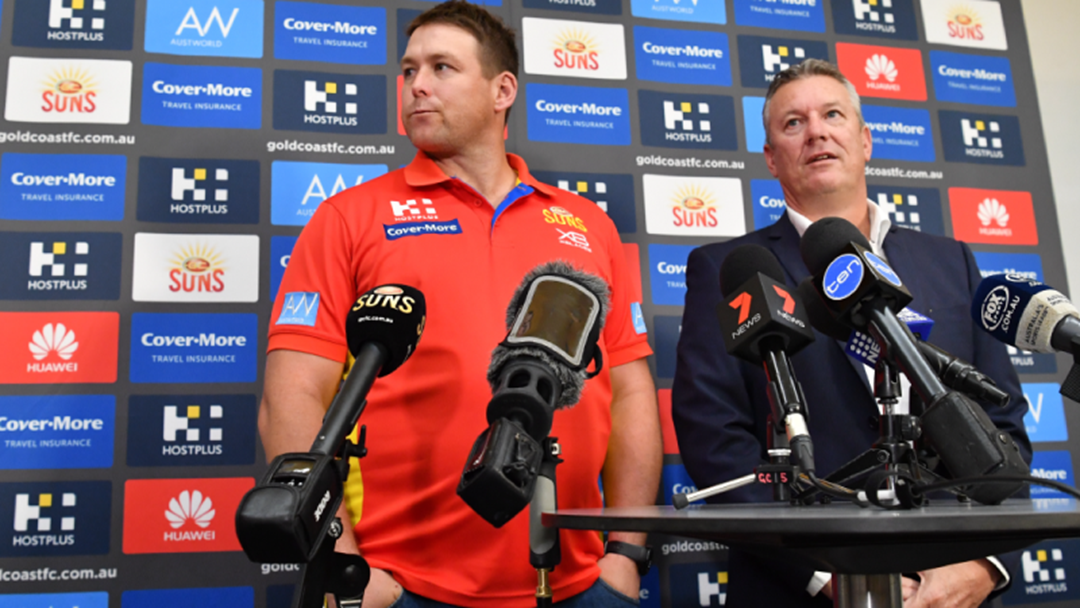 Gold Coast's CEO Mark Evans Has Threatened To Take Player Managers To Court