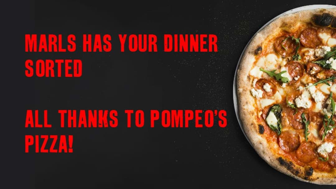 All Thanks to Pompeo's Pizza