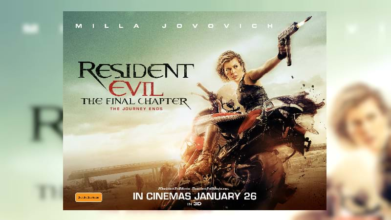 Movie of the Week - Resident Evil: The Final Chapter